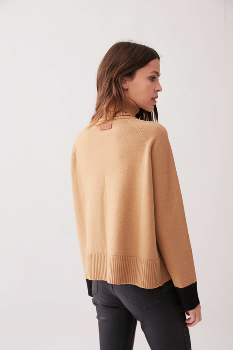 SWEATER UDAIPUR CAMEL