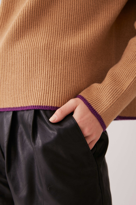 SWEATER HEMIS CAMEL
