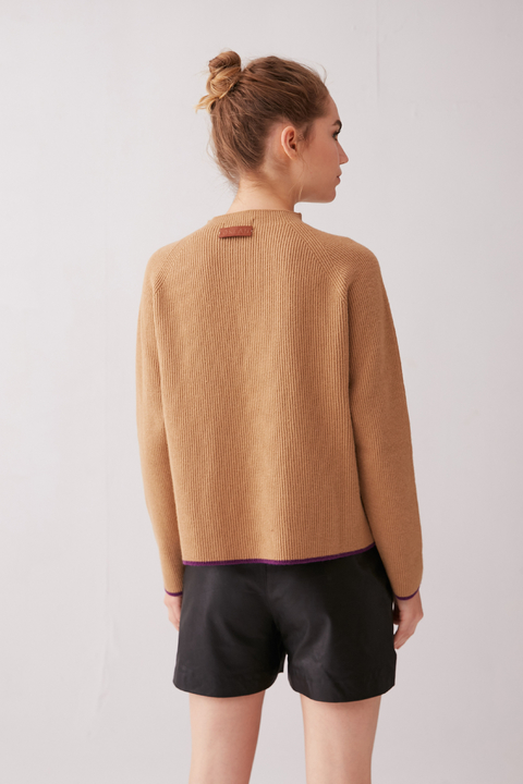 SWEATER HEMIS CAMEL en internet