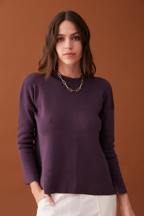 SWEATER KORBA UVA