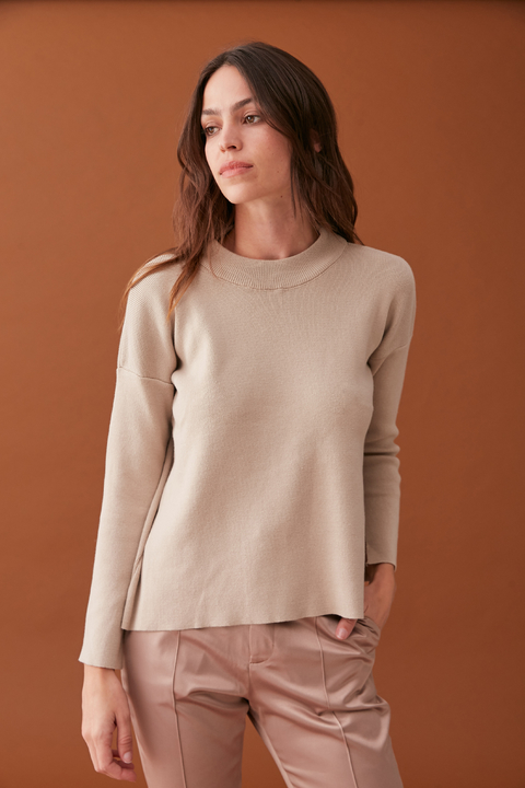 SWEATER KORBA CAMEL