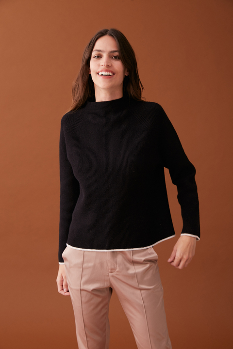 SWEATER HEMIS NEGRO