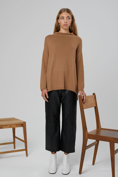SWEATER BOMBAY CAMEL