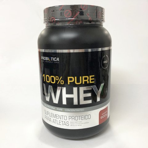100% PURE WHEY POTE (SABORES) | 900G | PROBIÓTICA na internet
