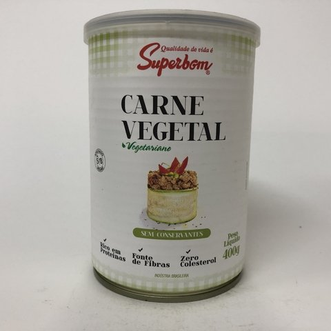 CARNE VEGETAL | 400G | SUPERBOM