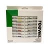 Set Acrilicos Reeves X 18 Colores Pomo 10 Ml