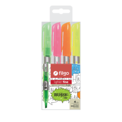 Resaltador filgo Lighter Fine Flúo