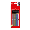 Lápices de Colores Eco Metallic Faber Castell x10