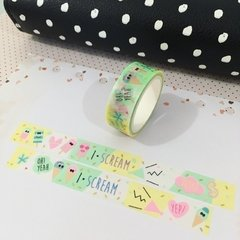 Masking Tape - Sorvete - Hey Invent