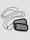 CHAPITAS MILITARES GRABADAS - DOG TAGS