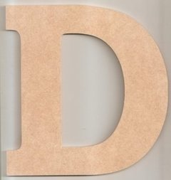 Imagem do Letras 20cm Mdf 4mm Com Base