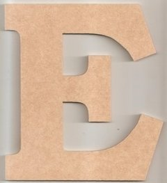 Letras 20cm Mdf 4mm Com Base