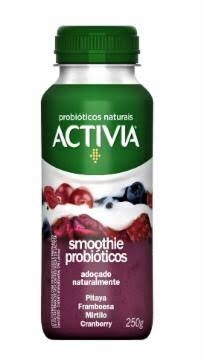ACTIVIA SMOOT PITAYA FRAMBOESA MIRTILO E CRANBERRY
