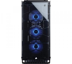 GABINETE CORSAIR CRYSTAL 570X RGB BLACK FULL TOWER - comprar online