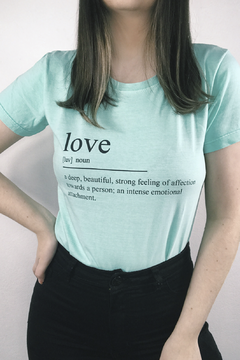 T-SHIRT LOVE ICE JADE - buy online