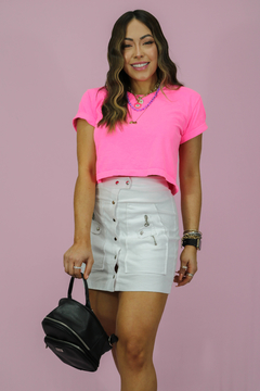 CROPPED ROSA NEON