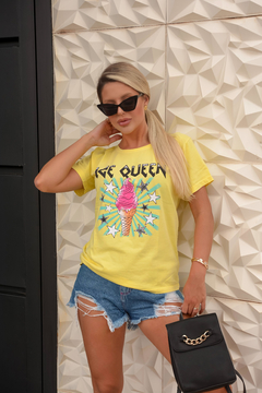 T-SHIRT ICE QUEEN VANILLA