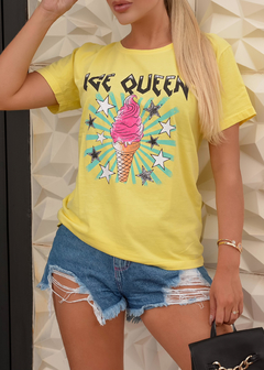 T-SHIRT ICE QUEEN VANILLA - buy online