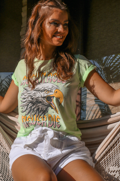 T-SHIRT EAGLE ROCK VERDE MENTA