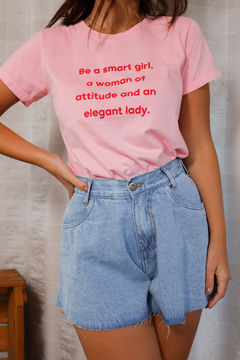 T-SHIRT SMART GIRL ROSA MARY - buy online