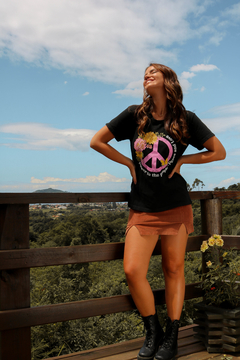 T-SHIRT PEACE PRETO en internet