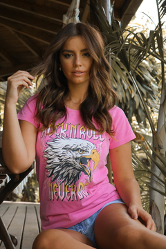 T-SHIRT EAGLE ROCK ROSA BEGÔNIA