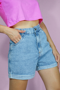 SHORTS MOM JEANS CLARO on internet