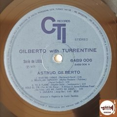 Astrud Gilberto With Turrentine - Gilberto With Turrentine - loja online