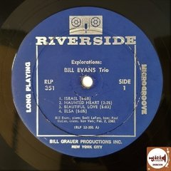 Bill Evans Trio - Explorations (1º Press EUA - MONO - 1961) - loja online