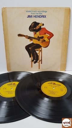 "Jimi Hendrix - Sound Track Recordings From The Film ""Jimi Hendrix"" (Import. UK / Capa Ed. Nacional / Duplo)"