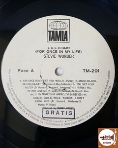 Stevie Wonder - For Once In My Life - Jazz & Companhia Discos