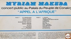 Myriam Makeba - Appel A L'Afrique (Import. Guiné) na internet