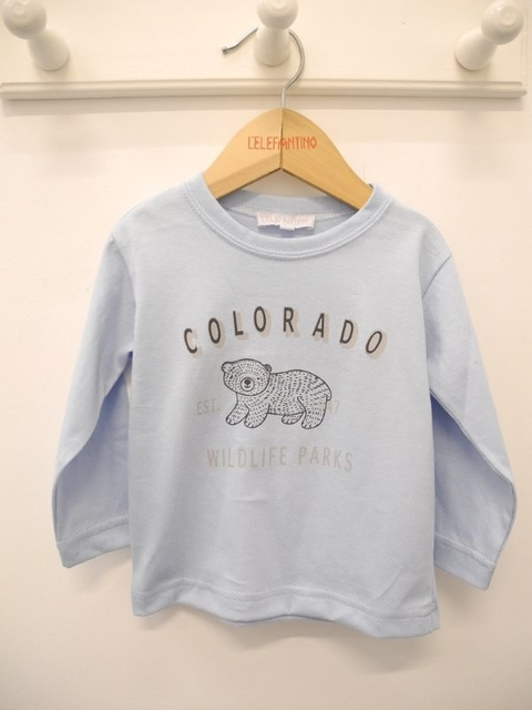 REMERA BEBE JERSEY LISO COLORADO
