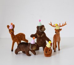 "PACK 5 ANIMALITOS ""BOSQUE"" - comprar online"