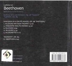 Cd Beethoven Nº 3 Royal Philharmonic Orchestra (32) - comprar online