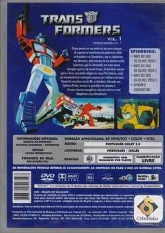 Dvd Transformers Vol. 1 (49) - comprar online