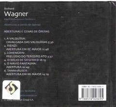 Cd Richard Wagner Nº 9 Royal Philharmonic Orchestra (32) - comprar online