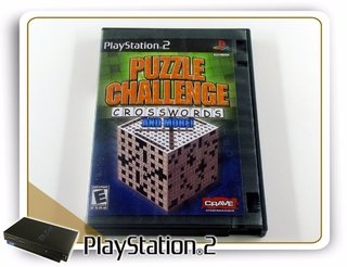 Puzzle Challenge Crosswords Original Playstation 2 PS2