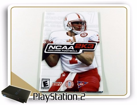 Manual Ncaa 2k3 College Football Original Playstation 2 PS2