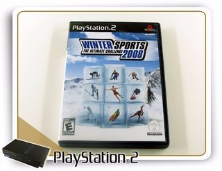 Winter Sports 2008 Original Playstation 2 PS2