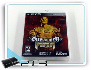 Supremacy Mma Original Playstation 3 PS3