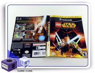 Encarte Lego Star Wars The Video Game Original Gamecube