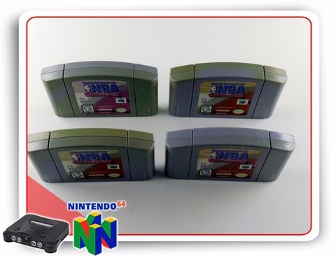 Nba Courtside Original Nintendo 64 N64 - Radugui Store