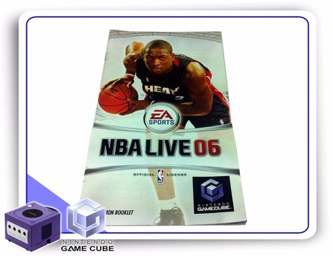 Manual Nba Live 06 Original Gamecube