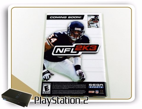 Manual Ncaa 2k3 College Football Original Playstation 2 PS2 - comprar online