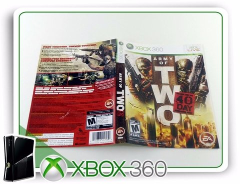 Encarte, Manual E Panfletos Army Of Two Originais Xbox 360 - comprar online