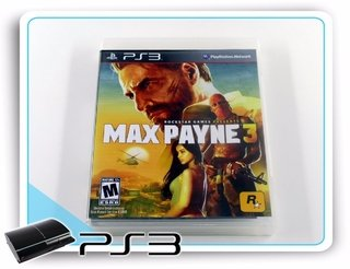Max Payne 3 Playstation 3 Original Ps3