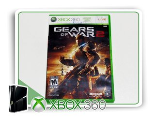 Gears Of Wars 2 Original Xbox 360 - Mídia Física