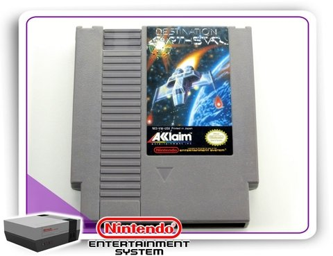 Destination Earthstar Original Nintendinho Nes 8-bits
