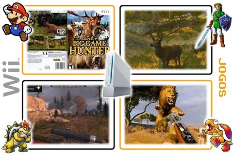 Cabelas Big Game Hunter Original Nintendo Wii - Radugui Store